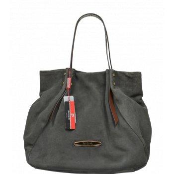 Pierre Cardin 4049 Grigio - Talianské kožené kabelky